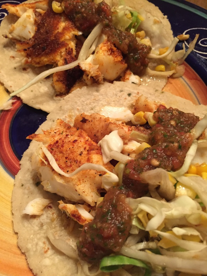 Delicious fish tacos thelifeofamother for Fish taco seasoning